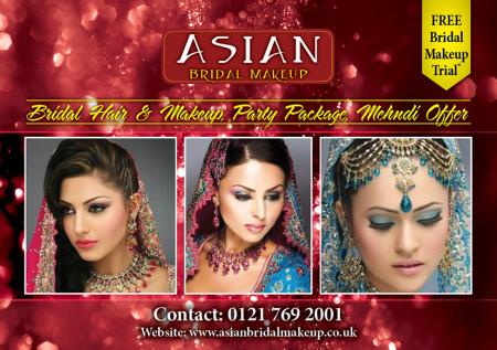 Asian Bridal Makeup a5 flyer