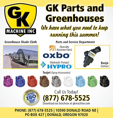 GK Parts and Greenhouses Ad 3.8125x4
