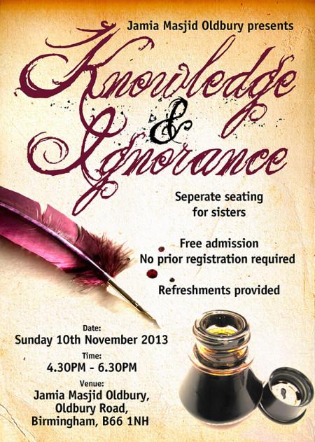Jamia Masjid Oldbury A5 Flyer