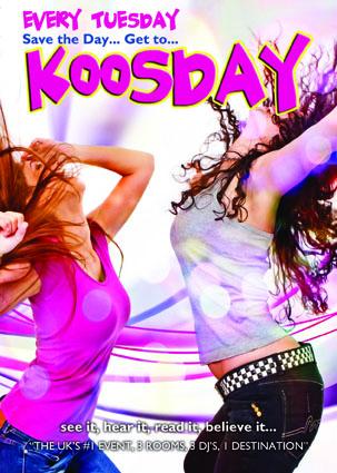 Koosday Comic Flyer