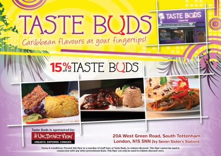 Taste Buds A5 Flyer v2
